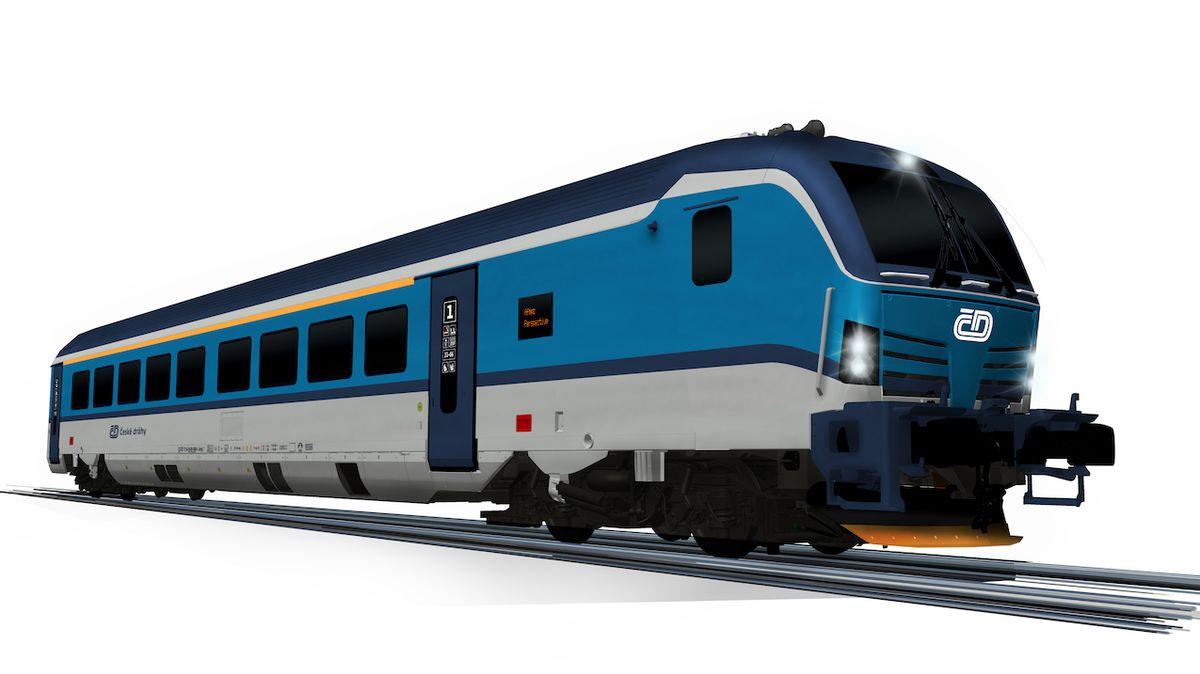 České dráhy si objednaly nové vlaky, mohou jet až 230 km/h