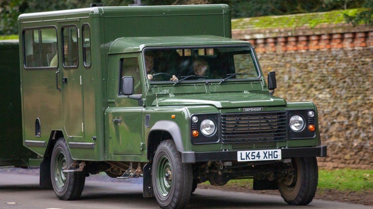 Rakev na pohřbu prince Philipa poveze auto, na jehož úpravě se podílel