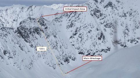 Vrtulník s Kellnerem před tragédií manévroval těsně nad horským hřebenem