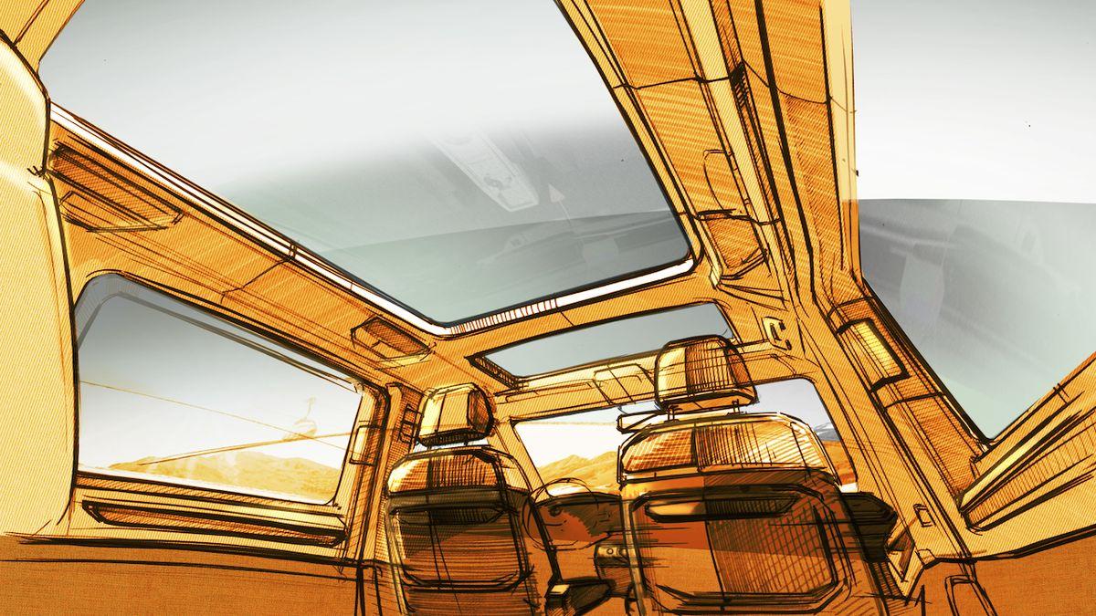 Volkswagen přináší první pohled do kabiny nového Multivanu