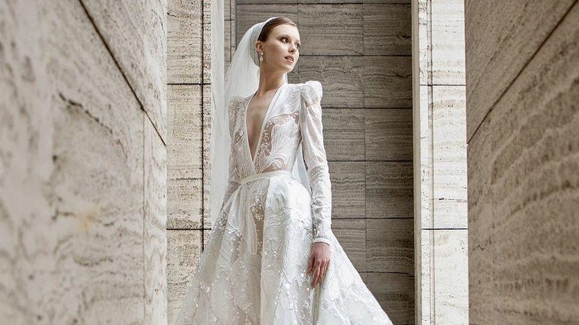 Svatební inspirace z dílny Elieho Saaba