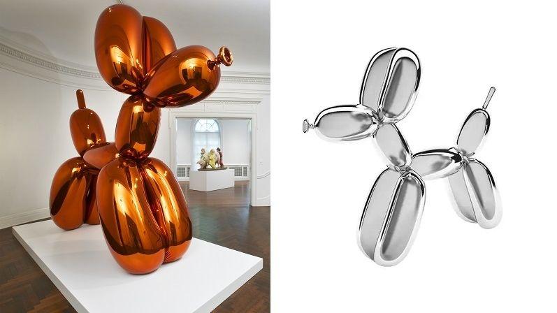 Balonkový pes je vtipnou dekorací, která by neměla chybět v žádném pop artovém interiéru