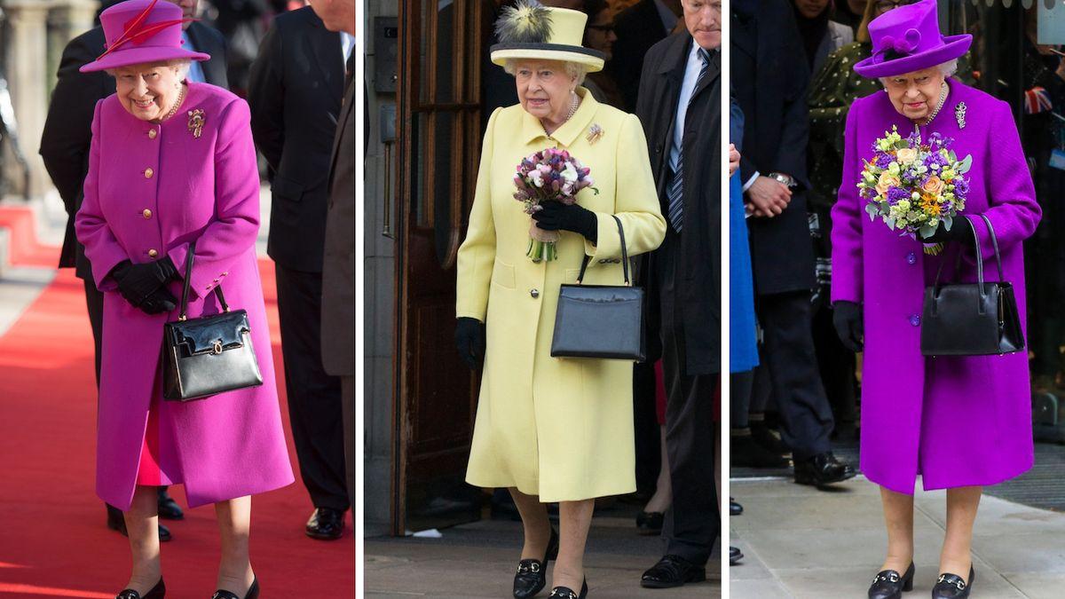 Mýty a fakta o kabelce královny Alžběty II.