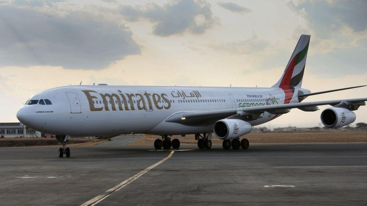 Jako soukromý tryskáč. V letadle pro 350 lidí letěl z Bombaje jediný pasažér