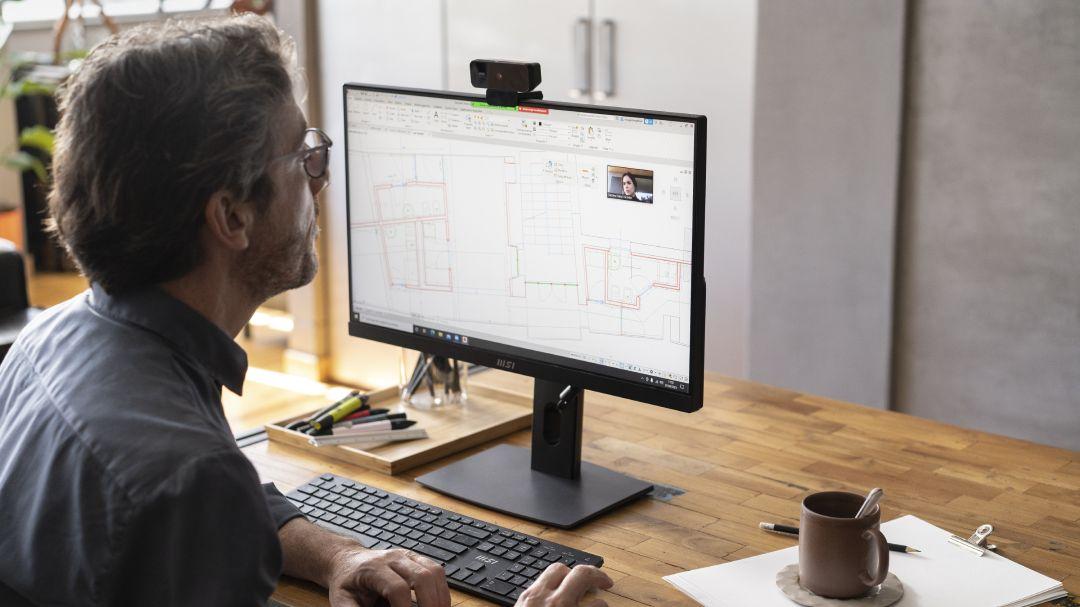 Mini počítače amonitory pro práci nejen na home office: MSI představuje řadu PRO