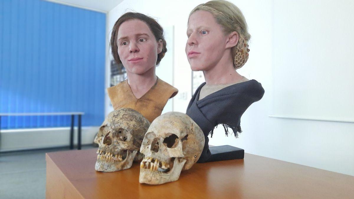 Šest tisíc let staré ženy se zhmotnily v Brně