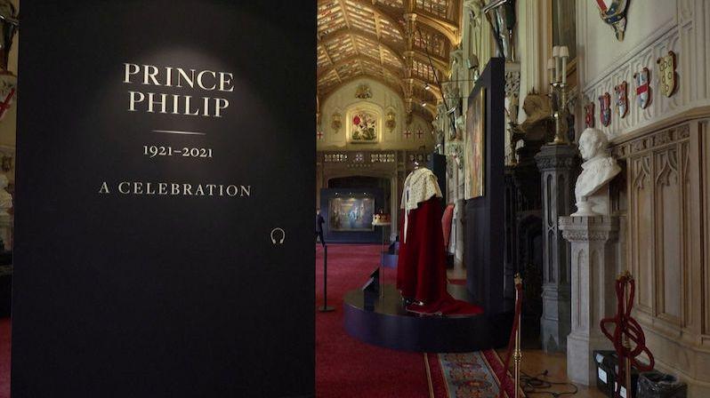 Nedávno zesnulého prince Philipa připomíná ve Windsoru nová výstava