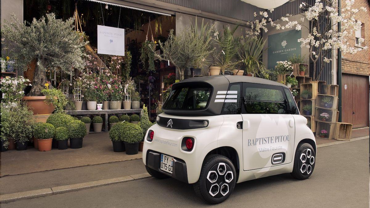 Městská dodávka budoucnosti podle Citroënu má jen 8 koní. Přivítejte maličké My Ami Cargo