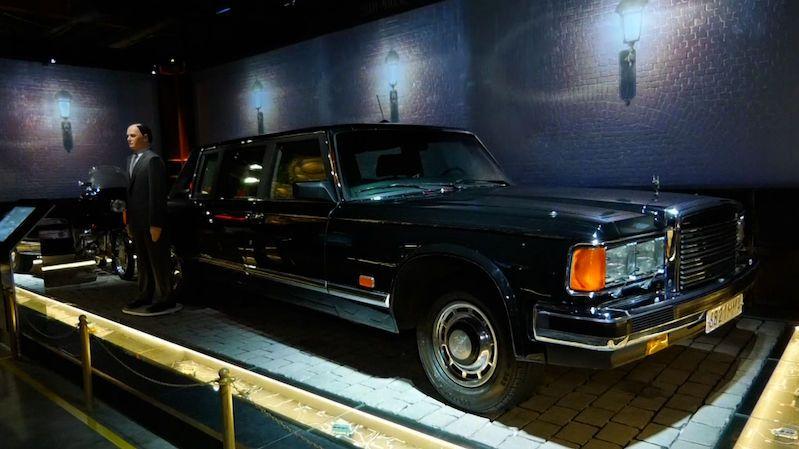 Muzeum vystavuje auta ruských vůdců od posledního cara po Putina