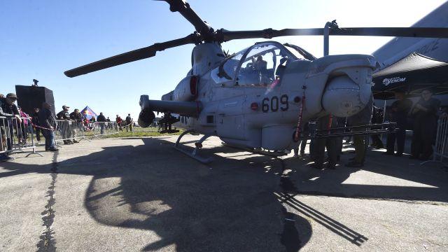 Opravna pro vrtulníky z USA za stamiliony