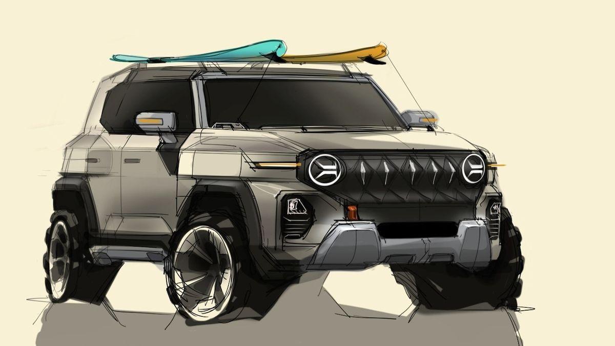 Ssangyong ukazuje nové SUV. Koncept vypadá futuristicky