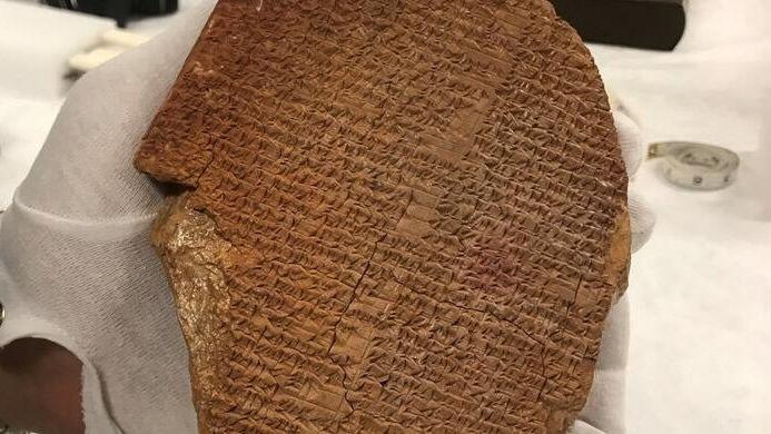 Do Iráku se vrátí Gilgamešova tabulka a tisíc dalších ukradených památek