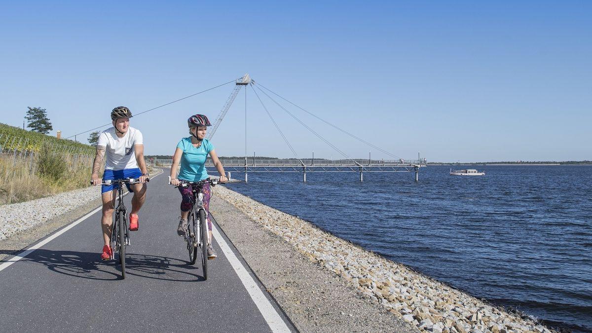 Lužická jezerní krajina: Ideální cyklistická dovolená vnejvětší evropské umělé vodní krajině