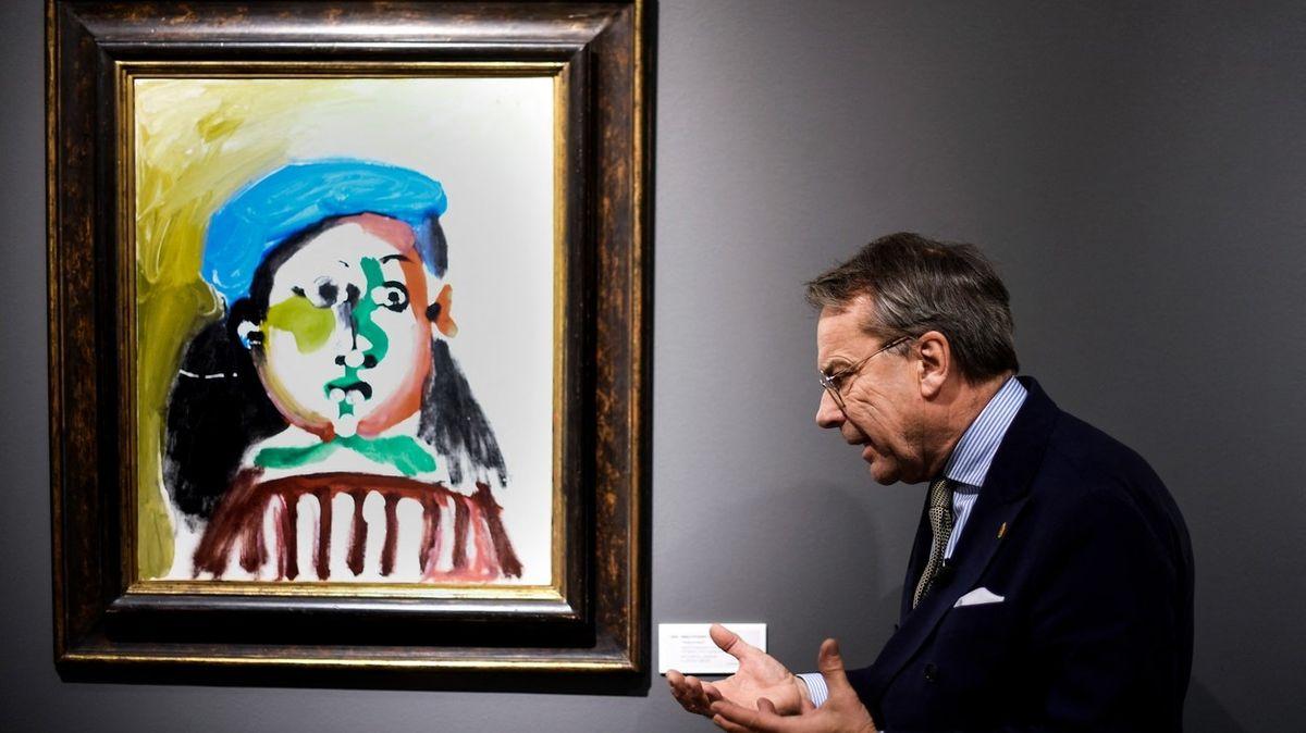 Švýcarská banka chce prodat Picassův obraz stovkám investorů