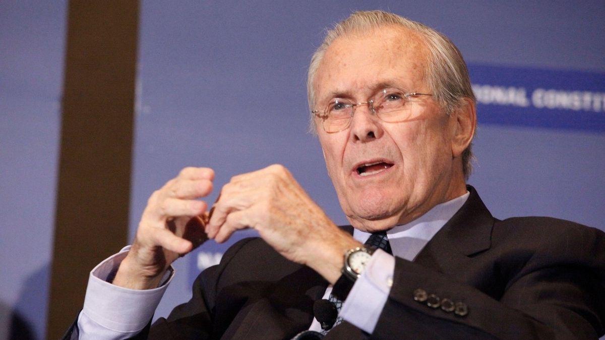 Rumsfeld zanechal memento k válkám