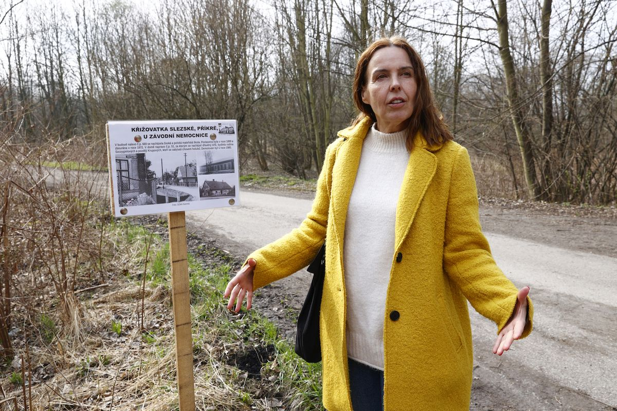 Karin Lednická, autorka knižní série Šikmý kostel