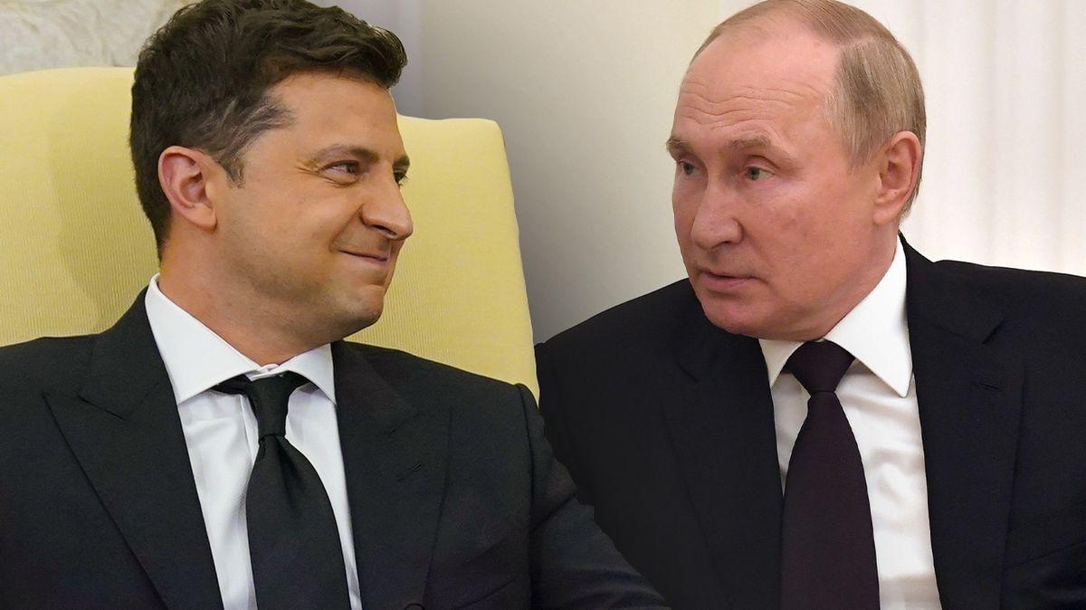 Ukrajinský prezident připustil možnost války s Ruskem