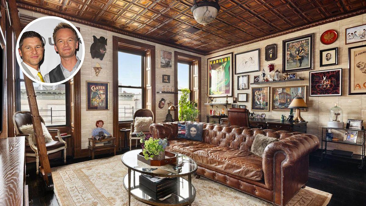 Neil Patrick Harris prodává dům v New Yorku. Je v něm i tajná místnost