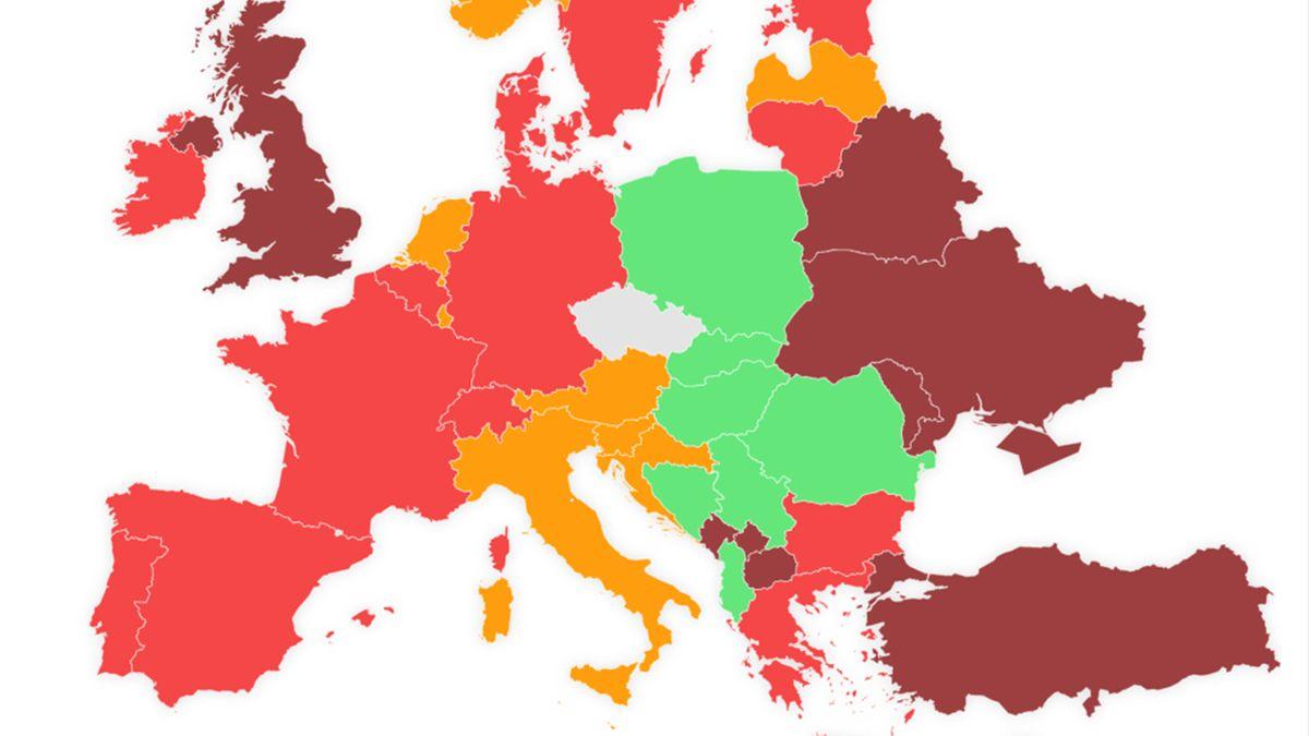 Cestovatelský semafor: Německo mezi červenými zeměmi