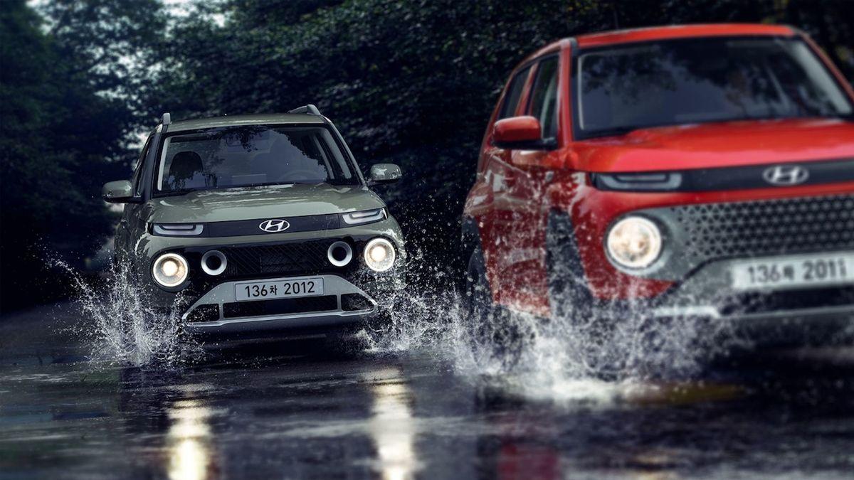 Nový Hyundai má jméno jako slavný duch. Malý crossover je asijskou specialitou
