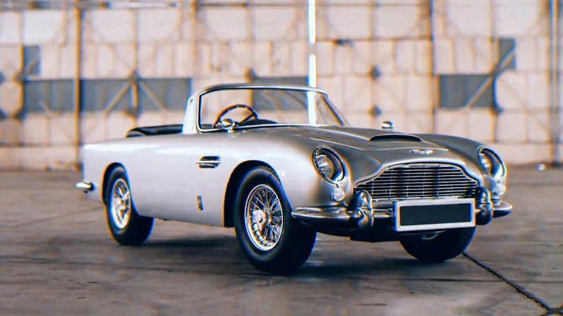 Bondův Aston Martin v dětské verzi má kulomety a neuvěřitelnou cenovku