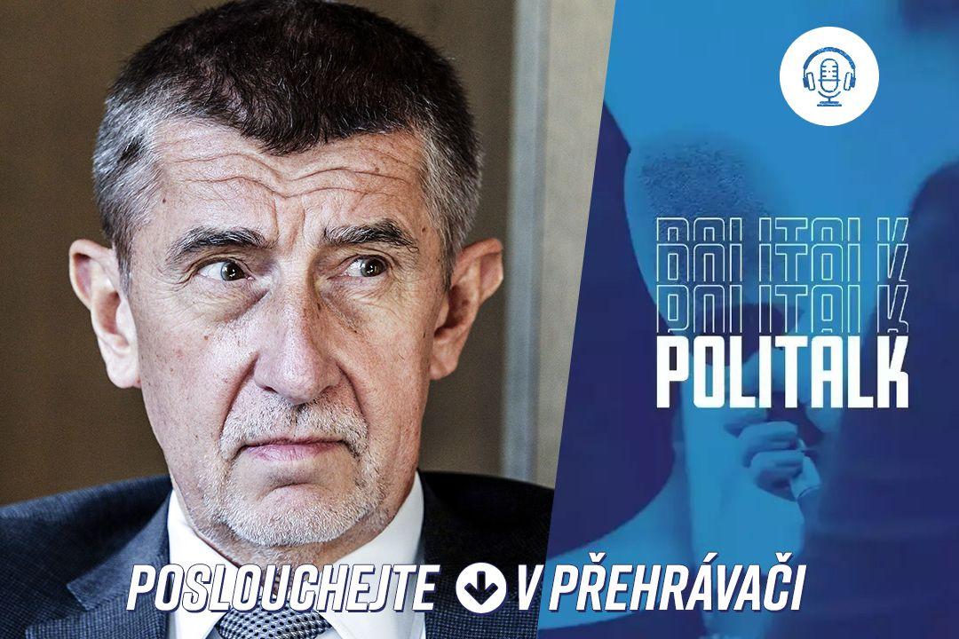 Hostem podcastu PoliTalk byl Andrej Babiš