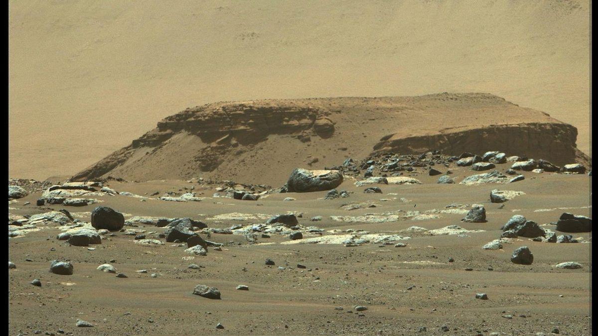 Data z Marsu: Na planetě kdysi mohly být podmínky pro život