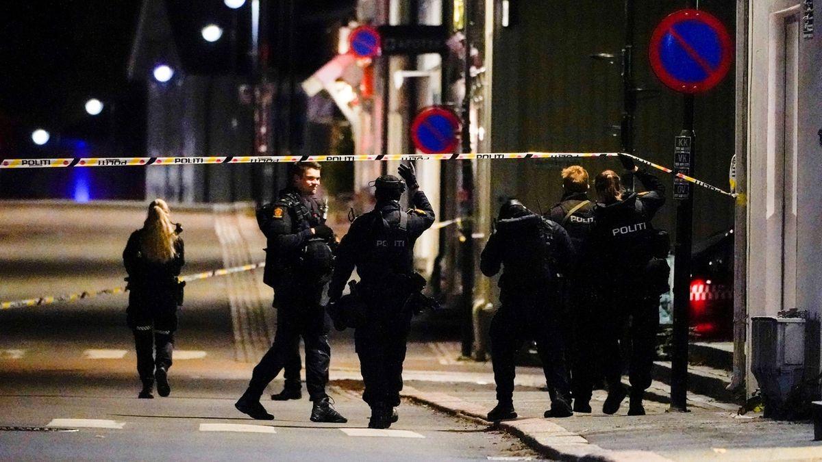 Muž v norském městě Kongsberg útočil lukem a šípy