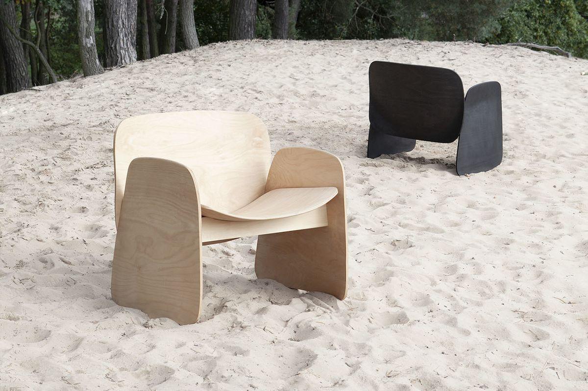 Filip Krampla z Česka zaujal návrhem pohodlného sedacího nábytku.