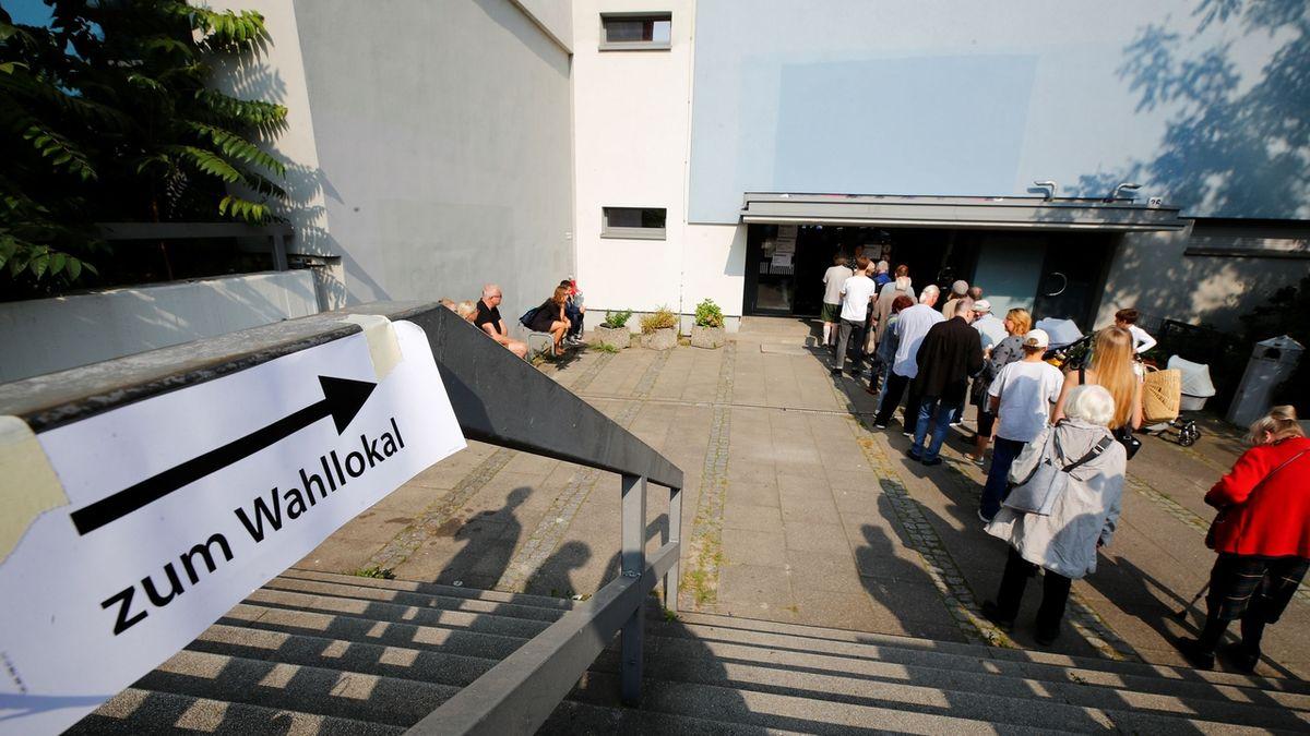 Německo hlásí vysokou volební účast