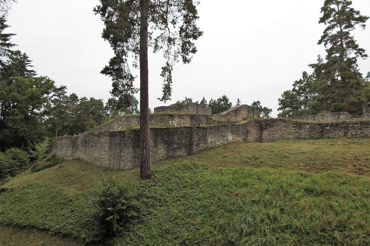 Národní kulturní památka Kozí hrádek u Tábora