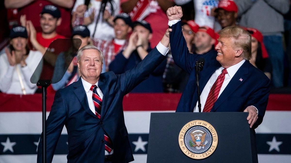 Lindsey a Donald: Kamarádi na jedno funkční období