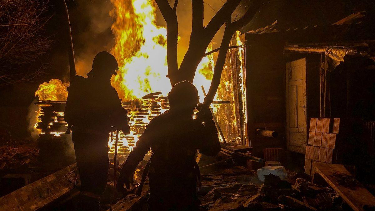 Požáry ve Slezsku napáchaly na Štědrý den škody za statisíce