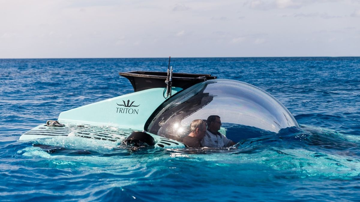 Turistické výlety do hlubin oceánu jsou zase o trochu blíž