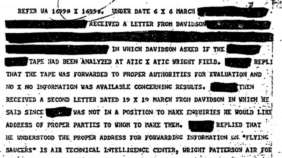 CIA odtajnila stovky nejtajnějších dokumentů o UFO