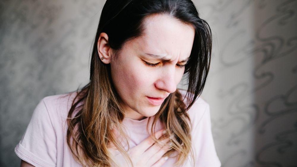 Bolesti na hrudi a problémy s dýcháním, i tak se může projevit plicní embolie