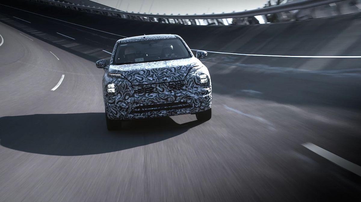 Mitsubishi poutá na nový Outlander