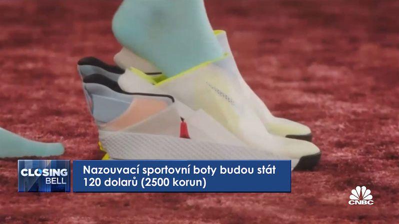 Nike uvádí první samonazouvací tenisky