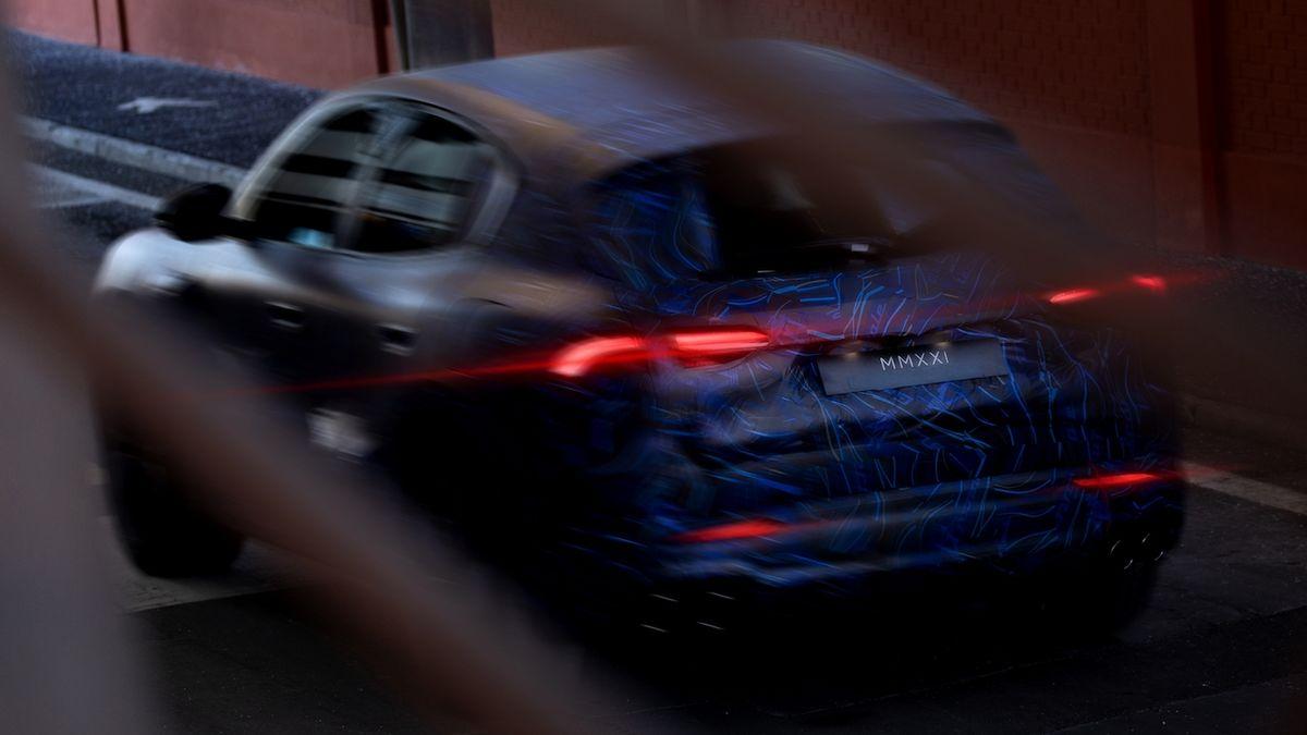 Chystané SUV Maserati Grecale dostane i ostrou verzi Trofeo