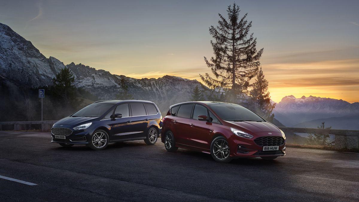 Ford S-Max a Galaxy přijíždějí s hybridním pohonem