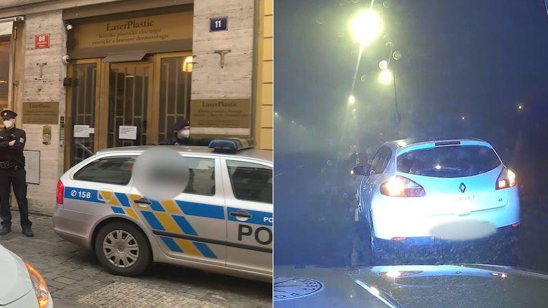Mladík po noční honičce v Praze ujížděl policii ve stejném autě i dnes odpoledne