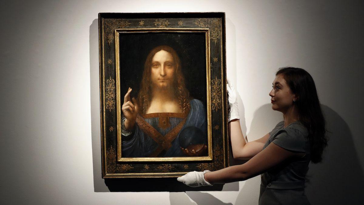 Na zahraničních aukcích vládne Leonardo da Vinci