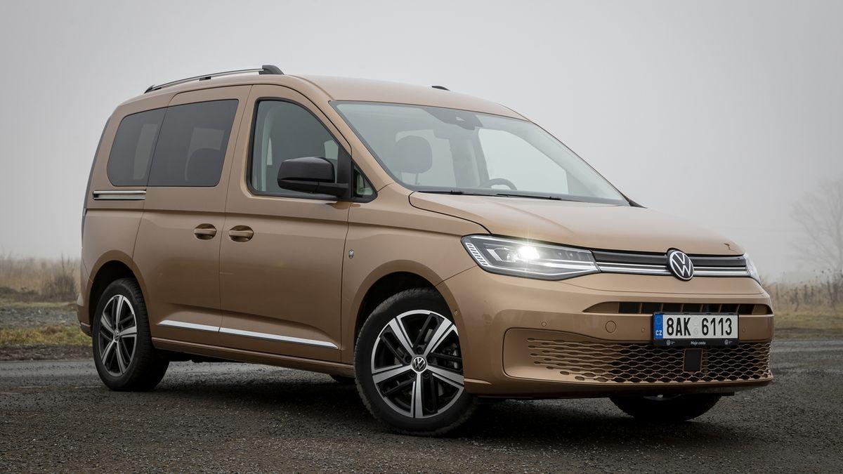 Test osobního Volkswagenu Caddy: Výborný rodinný pracant
