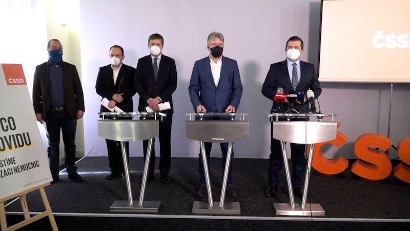 Jsme tradiční strana, která umí řešit krize, rozjela ČSSD kampaň