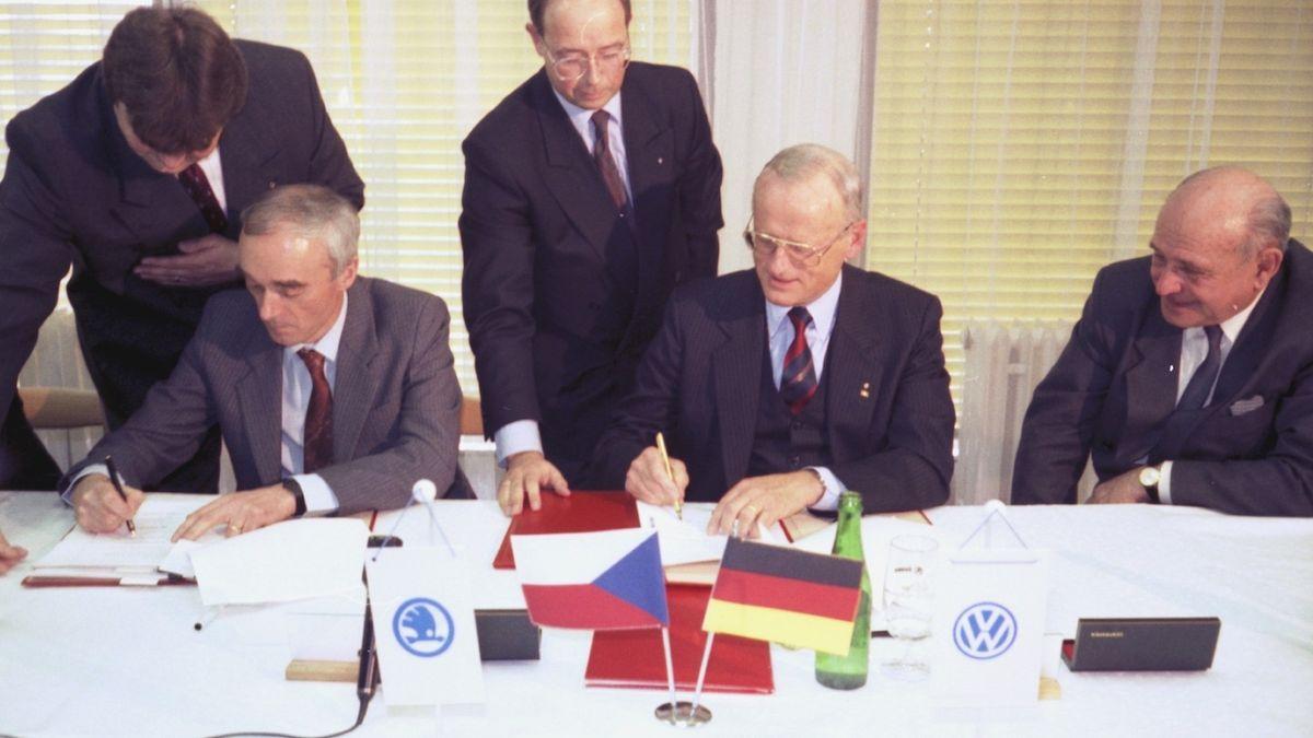 Před 30 lety se Škoda stala součástí Volkswagenu