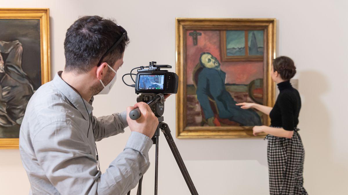Národní galerie představuje svá srdeční díla online