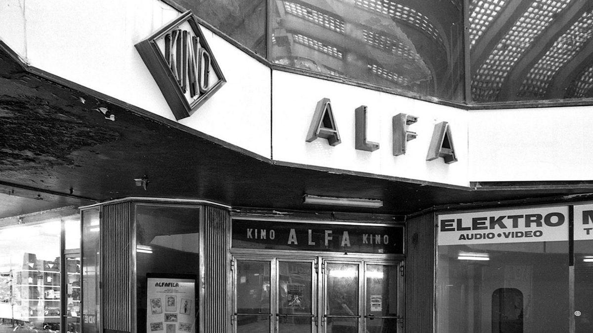 Pražské kino Alfa dlouhá léta vedl Řek