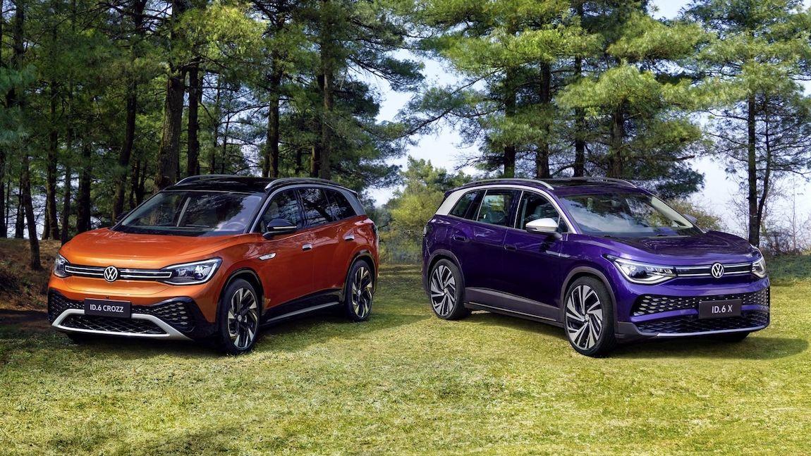 Volkswagen ukázal ID.6 X a ID.6 Crozz, elektromobily speciálně pro Čínu