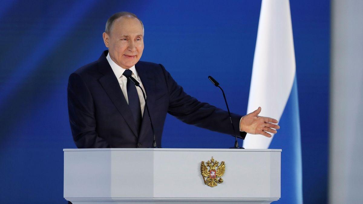 Putin: Rusko tvrdě odpoví na provokace