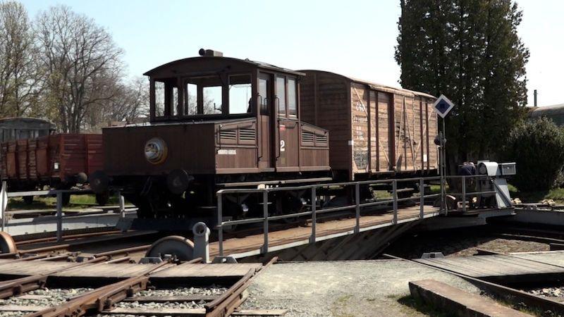 Poslední jízda lokomotivy Ringhoffer č. 2